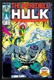 Incredible Hulk No.337 Cover: Hulk, Cyclops, Grey, Jean, Iceman and X-Factor Prints by Todd McFarlane