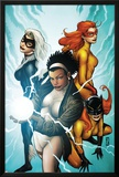 Marvel Divas No.3 Cover: Photon, Hellcat, Black Cat and Firestar Posters by Patrick Zircher