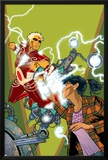 Warlock No.4 Cover: Adam Warlock, Chin and Janie Posters by Charlie Adlard