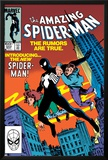 Amazing Spider-Man No.252 Cover: Spider-Man Swinging Posters by Ron Frenz