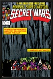 Secret Wars No.4 Cover: Hulk and Captain America Poster by Bob Layton