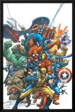 Marvel Team Up No.1 Cover: Wolverine Photo by Scott Kolins