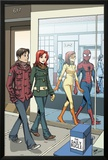 Spider-Man Loves Mary Jane No.18 Cover: Spider-Man Posters by David Hahn
