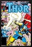 Thor No.339 Cover: Beta-Ray Bill Print by Walt Simonson