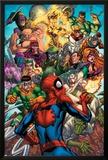 Spider-Man & The Secret Wars No.2 Cover: Spider-Man Poster by Patrick Scherberger