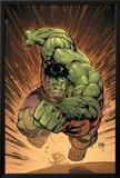 Marvel Adventures Hulk No.14 Cover: Hulk Posters by David Nakayama