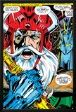 Thor No.180 Headshot: Odin Print by Neal Adams