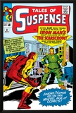 Marvel Comics Retro: The Invincible Iron Man Comic Book Cover No.51, Suspense- Facing the Scarecrow Prints