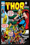 Thor No.181 Cover: Thor and Balder Poster by Neal Adams