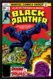 Black Panther No.7 Cover: Black Panther Fighting Posters by Jack Kirby