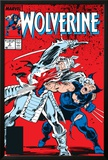Wolverine No.2 Cover: Wolverine and Silver Samurai Poster by John Buscema