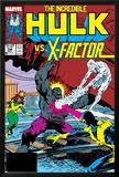 Incredible Hulk No.336 Cover: Iceman, Grey, Jean, Cyclops, Hulk and X-Factor Crouching Posters by Todd McFarlane