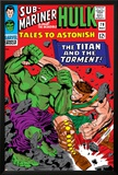 Tales To Astonish No.79 Cover: Hulk and Hercules Poster by Reilly Brown