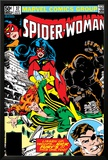 Spider-Woman No.37 Cover: Spider Woman, Siryn, Juggernaut and Nick Fury Poster by Steve Leialoha