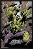 Hulk: Destruction No.1 Cover: Hulk Prints by Jim Muniz