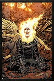 Ghost Rider No.18 Cover: Ghost Rider Print by Tony Moore