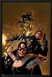 Punisher Vs. Bullseye No.5 Cover: Punisher and Bullseye Posters by Steve Dillon
