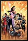 New Exiles No.8 Cover: Psylocke and Sabretooth Posters by Alan Davis