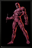 The Official Handbook Of The Marvel Universe Group: Daredevil Print by David Finch