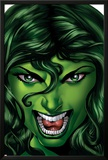 She-Hulk No.25 Cover: She-Hulk Prints by Shawn Moll