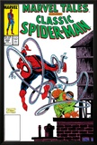Marvel Tales: Spider-Man No.224 Cover: Spider-Man and Doctor Octopus Charging Prints by Todd McFarlane