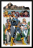 New X-Men No.3 Group: Cyclops, Emma Frost, Moonstar and Danielle Posters by Staz Johnson