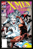 X-Men Classic No.46 Cover: Wendigo, Wolverine and Nightcrawler Poster by Steve Lightle