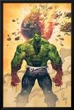 Incredible Hulk No.1 Cover: Hulk Standing Photo by Marc Silvestri