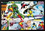 X-Men Annual No.3 Group: Colossus, Nightcrawler, Wolverine, Storm, Cyclops and X-Men Print by George Perez