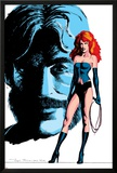 Classic X-Men No.24 Cover: Grey, Jean, Black Queen, Wyngarde and Jason Posters by John Bolton