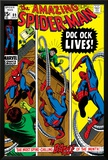 Amazing Spider-Man No.89 Cover: Spider-Man and Doctor Octopus Posters by Gil Kane