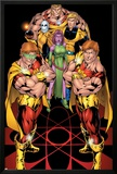 Exiles No.65 Cover: Hyperion, Blink, Morph, Sabretooth and Longshot Posters