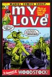 Marvel Comics Retro: My Love Comic Book Cover No.14, Woodstock Print
