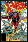 X-Men No.2 Cover: Magneto and Professor X Prints by Jim Lee