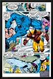 X-Men No.1 Group: Beast, Wolverine and Psylocke Posters by Jim Lee