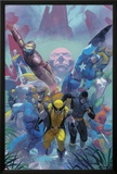 Secrets Of The House Of M Cover: Wolverine Posters by Esad Ribic