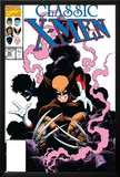 X-Men Classic No.45 Cover: Wolverine and Nightcrawler Fighting Posters by Steve Lightle