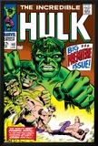 Marvel Comics Retro: The Incredible Hulk Comic Book Cover No.102, Big Premiere Issue Prints