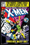 X-Men No.137 Cover: Cyclops, Grey and Jean Posters by John Byrne