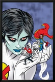 X-Statix Presents: Dead Girl No.2 Cover: Dr. Strange, Dead Girl and Phantom Rider Fighting Photo by Nick Dragotta