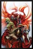 Secret Invasion: Inhumans No.3 Cover: Medusa, Gorgon, Karnak and Triton Prints by Stjepan Sejic