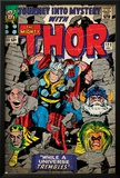 Marvel Comics Retro: The Mighty Thor Comic Book Cover No.123, Mystery with Absorbing Man, Odin Prints