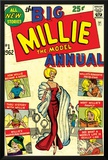 Marvel Comics Retro: Millie the Model Comic Book Cover No.1, the Big Annual Posters