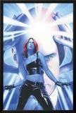 Mystique No.15 Cover: Mystique and Professor X Poster