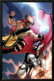 Incredible Hercules No.136 Cover: Hercules and Thor Posters by Rafael Albuquerque