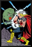 X-Statix No.25 Cover: Thor and Doop Posters by Michael Allred