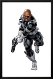 Nick Fury with a Gun Posters