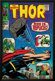 Marvel Comics Retro: The Mighty Thor Comic Book Cover No.141, Who is Replicus (aged) Posters