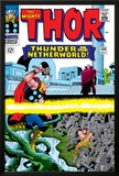 Marvel Comics Retro: The Mighty Thor Comic Book Cover No.130, Thunder in the Netherworld, Hercules Photo
