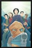 Guardians No.3 Cover: Drekk and Guardians Print by Casey Jones